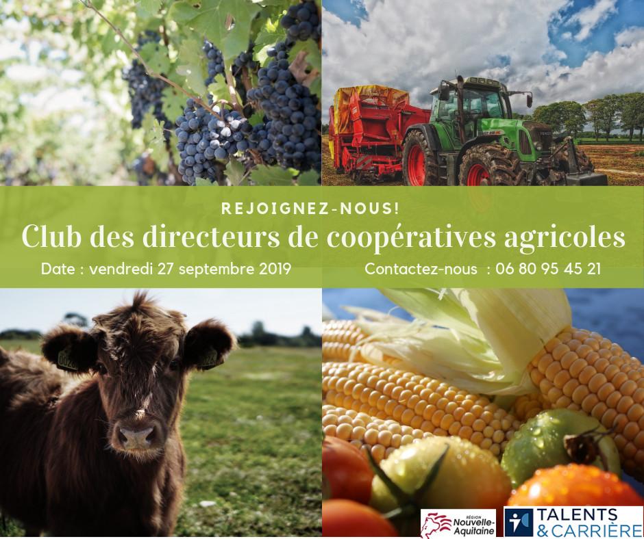 Club de dirigeants agriculteurs Conseil Regional Nouvelle Aquitaine